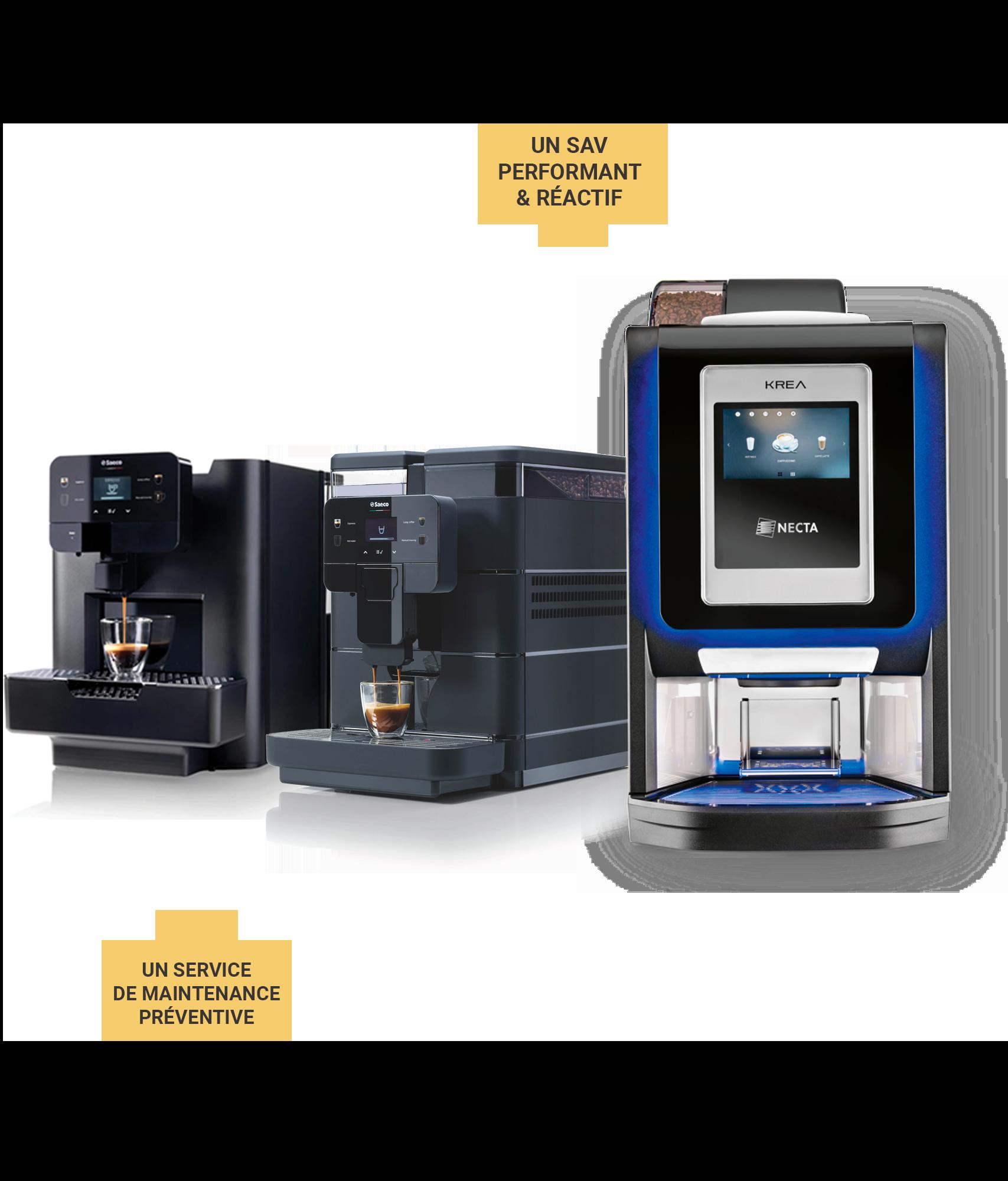 Machines à café professionnelles Litha Espresso à Nantes Sud